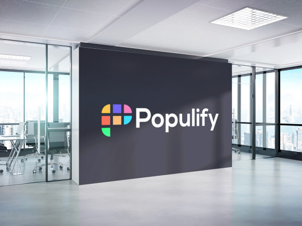 Sample branding #3 for Populify