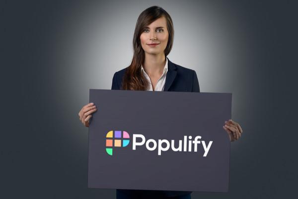Sample branding #1 for Populify