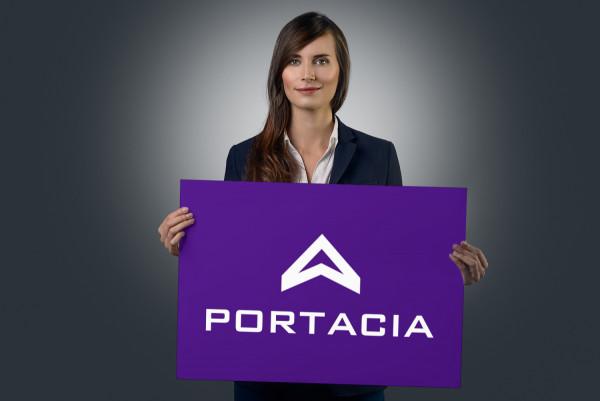 Sample branding #1 for Portacia