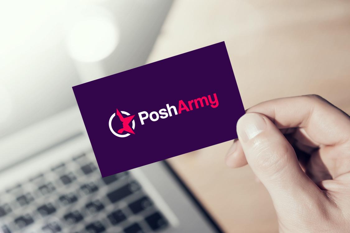 Sample branding #1 for Posharmy