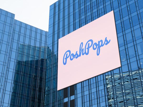 Sample branding #1 for Poshpops
