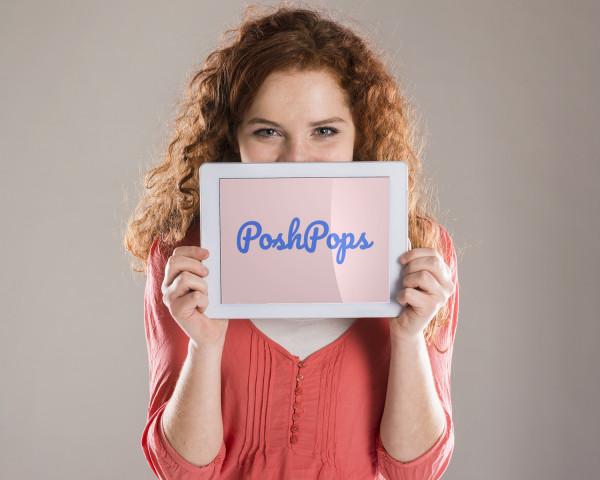 Sample branding #2 for Poshpops
