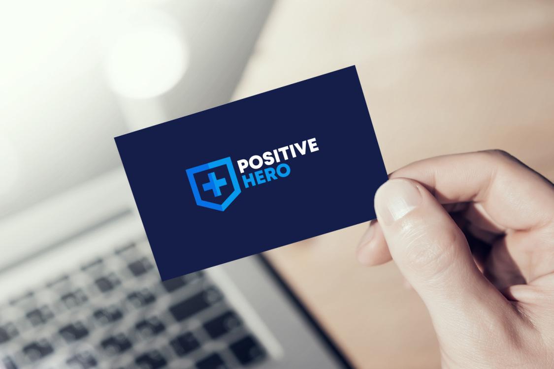 Sample branding #1 for Positivehero