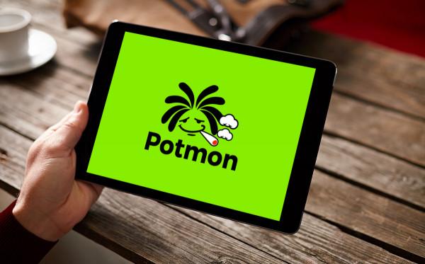 Sample branding #2 for Potmon