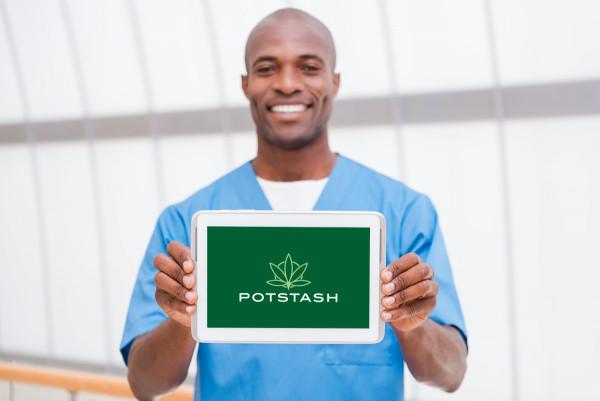 Sample branding #2 for Potstash
