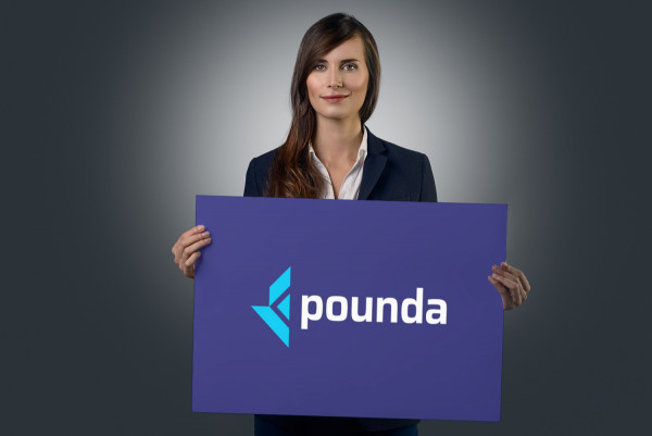 Sample branding #2 for Pounda