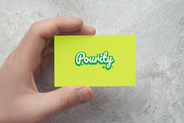 Sample branding #3 for Pourity