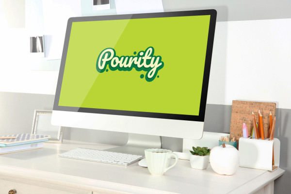 Sample branding #2 for Pourity