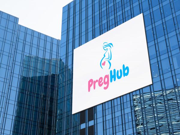 Sample branding #2 for Preghub