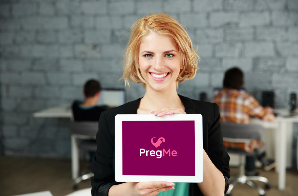 Sample branding #2 for Pregme