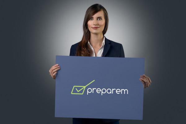 Sample branding #2 for Preparem