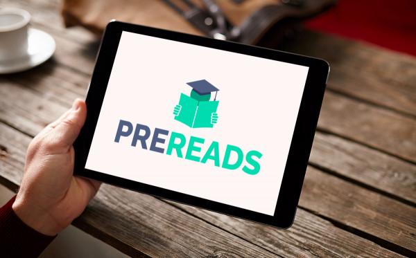 Sample branding #3 for Prereads