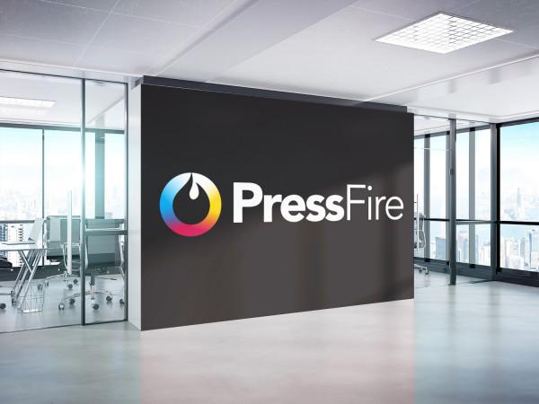 Sample branding #1 for Pressfire