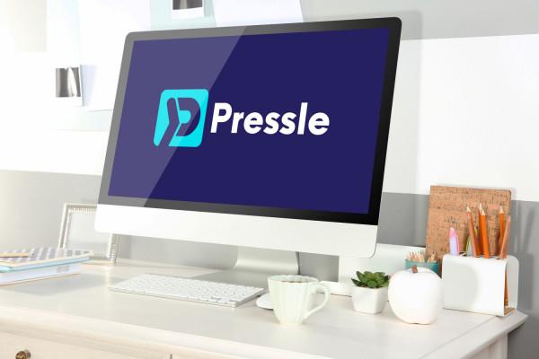 Sample branding #2 for Pressle
