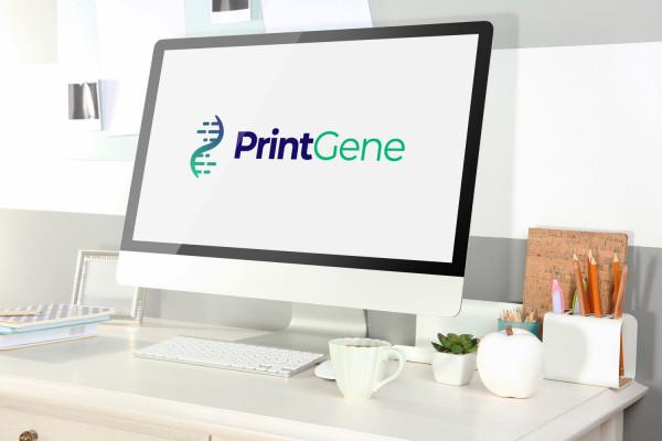 Sample branding #1 for Printgene