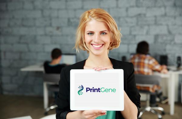 Sample branding #3 for Printgene