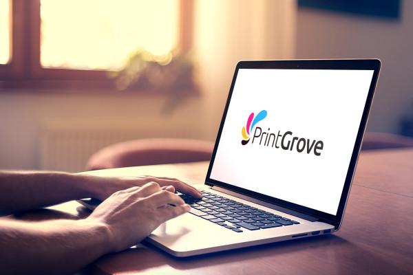 Sample branding #1 for Printgrove