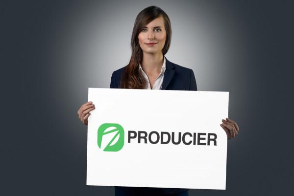 Sample branding #1 for Producier