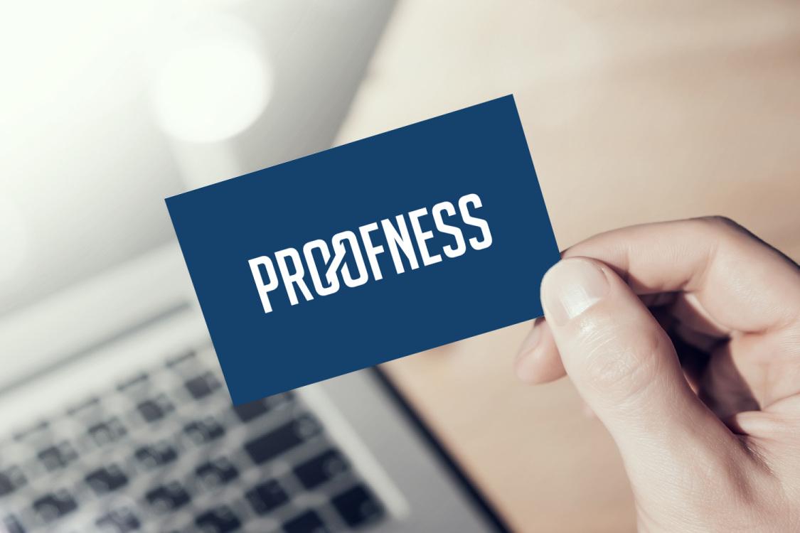Sample branding #2 for Proofness