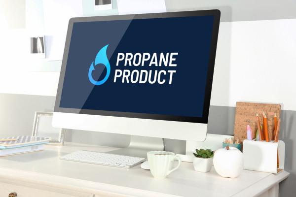 Sample branding #3 for Propaneproduct