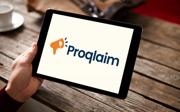 Sample branding #2 for Proqlaim