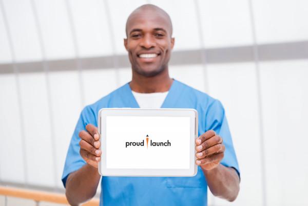 Sample branding #3 for Proudlaunch