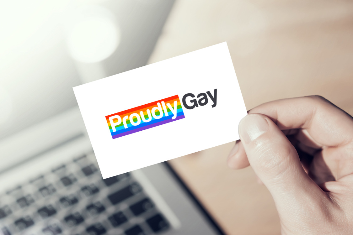 Sample branding #1 for Proudlygay