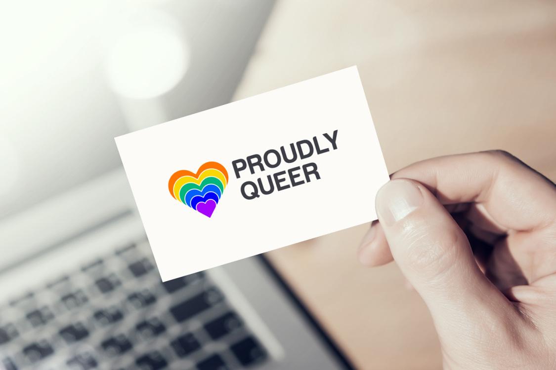 Sample branding #3 for Proudlyqueer