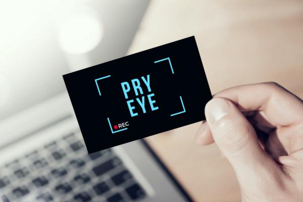Sample branding #1 for Pryeye