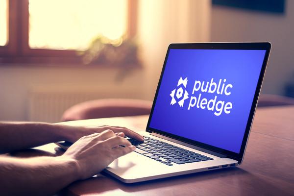 Sample branding #2 for Publicpledge