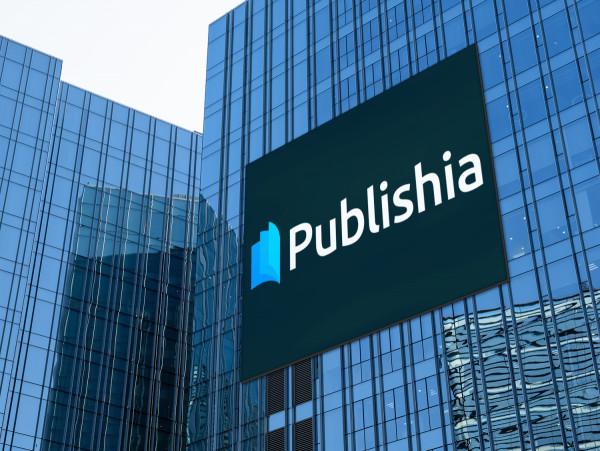 Sample branding #1 for Publishia