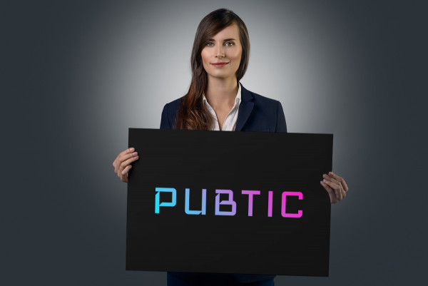 Sample branding #2 for Pubtic