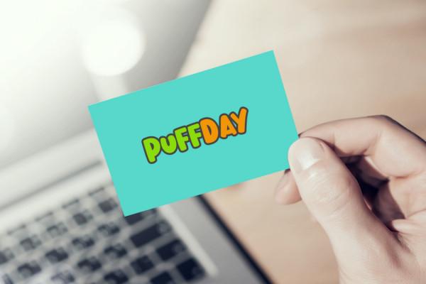 Sample branding #3 for Puffday