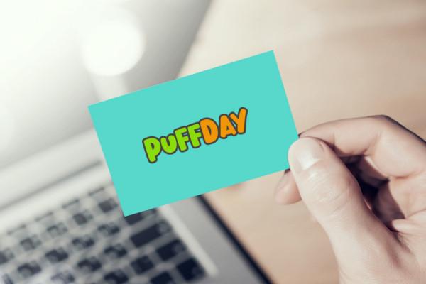 Sample branding #1 for Puffday