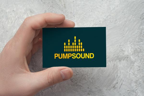 Sample branding #2 for Pumpsound