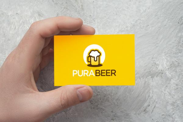 Sample branding #2 for Purabeer