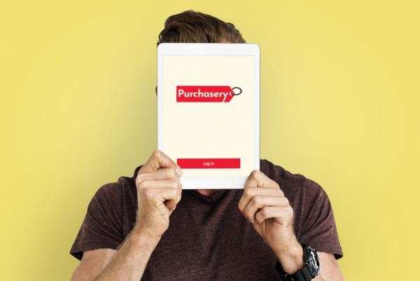 Sample branding #2 for Purchasery