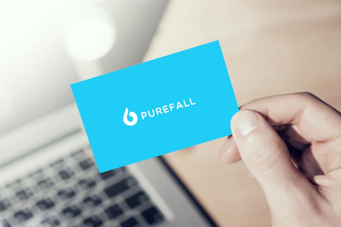 Sample branding #3 for Purefall
