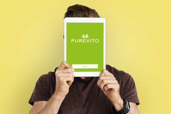 Sample branding #3 for Purevito