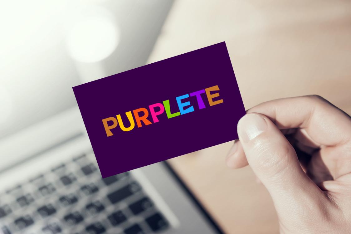 Sample branding #2 for Purplete