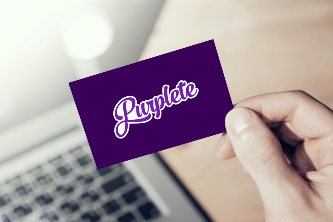 Sample branding #1 for Purplete