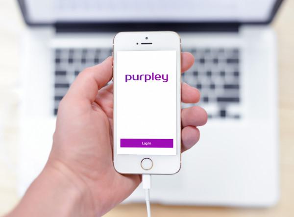 Sample branding #3 for Purpley