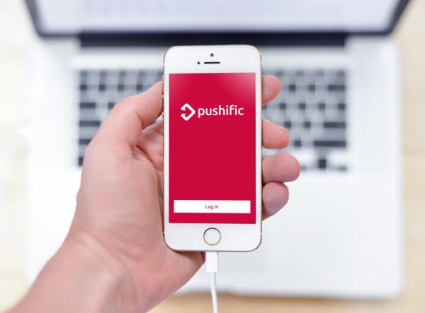 Sample branding #1 for Pushific
