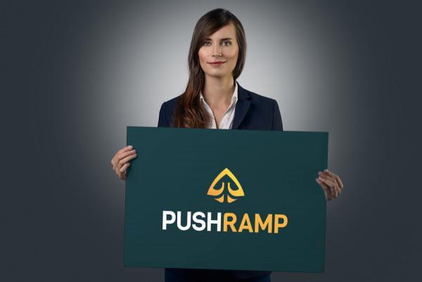 Sample branding #2 for Pushramp
