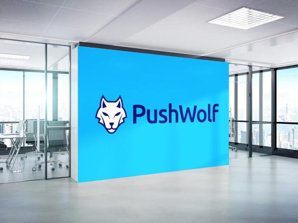 Sample branding #1 for Pushwolf