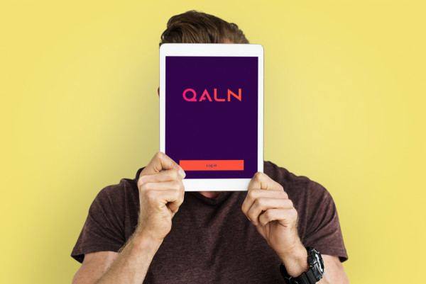 Sample branding #1 for Qaln