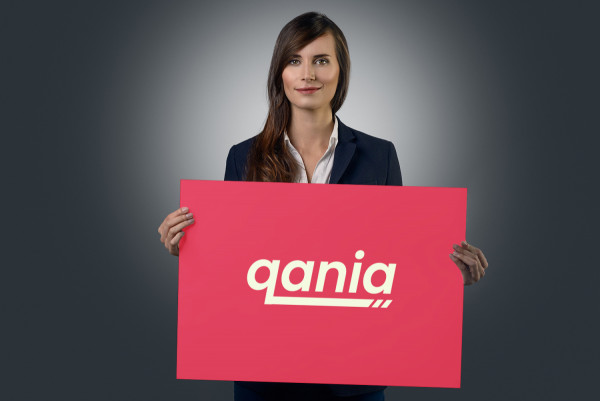 Sample branding #2 for Qania