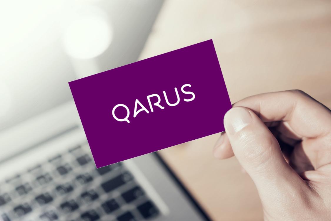 Sample branding #3 for Qarus