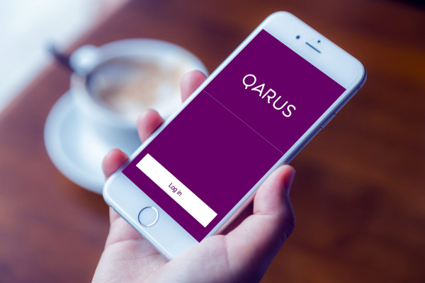 Sample branding #3 for Qarus