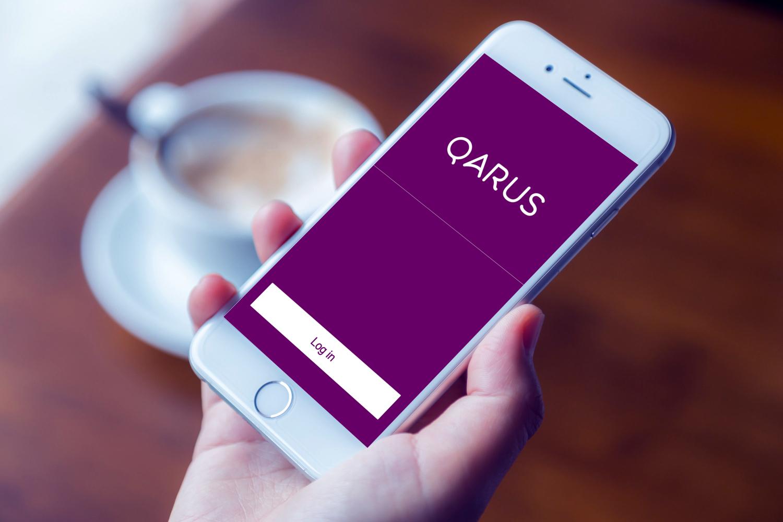 Sample branding #2 for Qarus